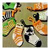 xmas mini socks