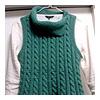 縄編みベスト