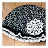 雪モチーフの帽子