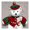 クマ用セーターと帽子